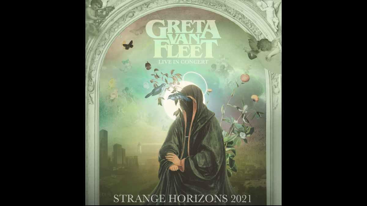 Greta Van Fleet Tour poster