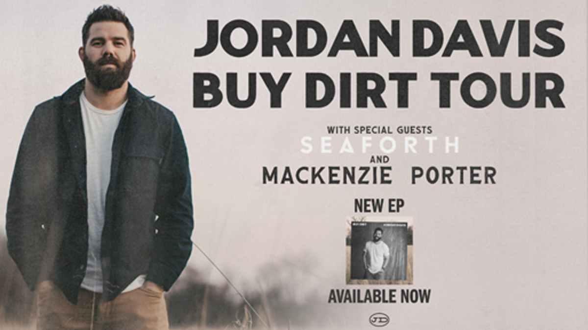Jordan Davis tour poster