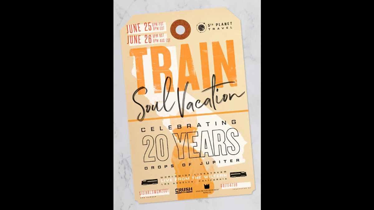 Train event poster