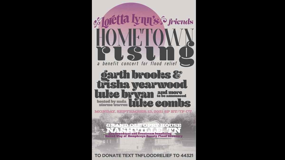 Loretta Lynn Event poster