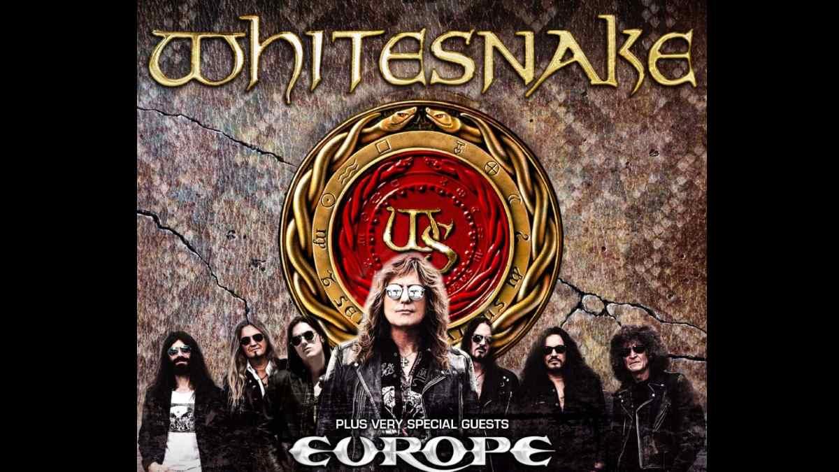 Whitesnake Tour poster