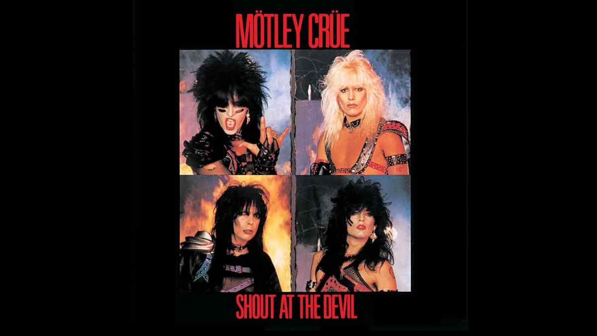 Motley Crue Album art