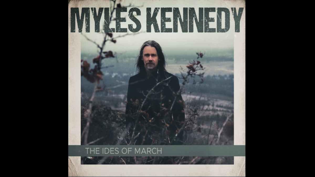 Myles Kennedy Album cover art