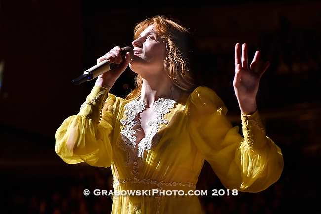 Florence + The Machine Live Photo