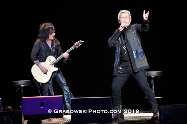Billy Idol and Steve Stevens  Live