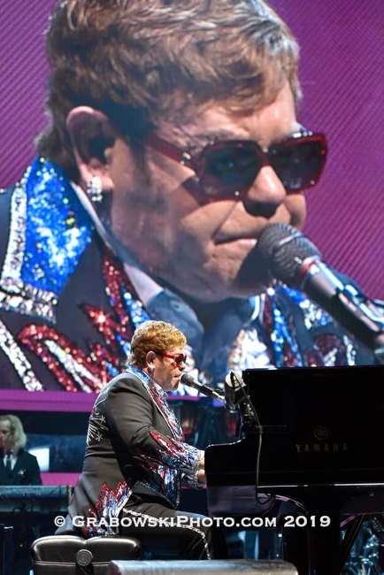 Elton John's  Farewell Yellow Brick Road tour